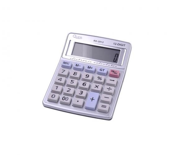 Calculator 12 digits RD-2812 Quer