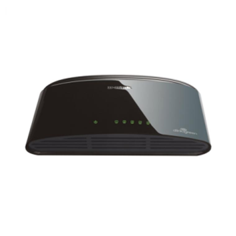 Switch DLink DES 1005D 5 Port Fast Ethernet
